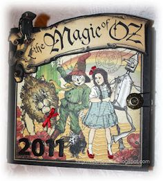 Check out my Wizard of Oz Chipboard Album