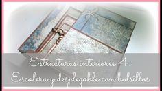 Estructuras interiores para álbumes 4: escalera y desplegable lateral co...