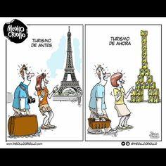 Tusrismo de antes vs el turismo de ahora...
