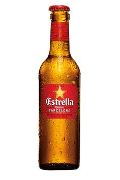 Gluten-Free Beers That Don't Make Us Sad #refinery29:  Estrella Beer - near a Sam Adams.  Rated very good!