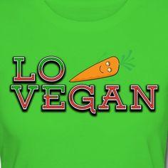 Love Vegan Bio/Fair T-Shirt Frauen