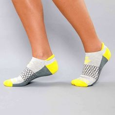 Bombas socks - my all-time favorite for gym + running. They're SO comfy, plus for each pair you buy, Bombas donates a pair to a homeless shelter for use by their patrons. Love love love.