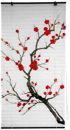 Cherry Blossom Window Blinds