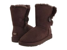 Bailey Button Chocolate Brown UGGs  I have a pair and they are so comfy and warm!!