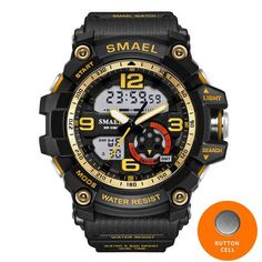Men's Watches Digital Watches Confident S Shock 2019 Luxury Brand Men Sports Watches Military Army Digital Led Quartz Watch Wristwatch Relogio Reloj Skmei Clock Relojes Durable Service
