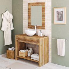 50 Fotos de móveis para casa de banho pequena ~ Decoração e Ideias Spanish Bathroom, New Homes, Inspiration, Furniture, Merlin, Studio, Diy, Bathroom Furniture, Small Bathrooms