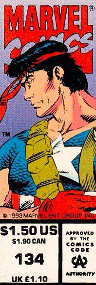 Marvel Comics Presents corner box art - Major Vance Astrovik aka Vance Astro ska Major Victory (Guardians of the Galaxy)