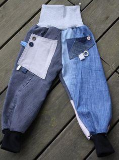"""Jeans - Ann&Emely Jeans Pumphose """"Lase"""" G... - ein Designerstück von Ann-and-Emely-Design bei DaWanda"""