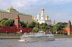 Bateau mouche en Russie ..