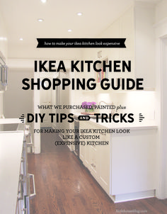 Ikea Kitchen Shopping Guide - What to Buy, Paint and Do. - Ikea Kitchen Shopping Guide – What to Buy, Paint and Do… - Ikea Kitchen Remodel, Ikea Kitchen Cabinets, Kitchen Countertops, Cupboards, Kitchen Hardware, Laminate Countertops, Kitchen Handles, Old Kitchen, Kitchen Redo