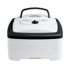 The Nesco Square Dehydrator and Jerky Maker includes four drying trays, jerky spice and cure packets. It generates maximum speed and quality for dehydrating fruits, vegetables, beef jerky and venison jerky. Jerky Dehydrator, Dehydrator Recipes, American Harvest Dehydrator, Specialty Appliances, Kitchen Appliances, Small Appliances, Kitchen Gadgets, Kitchen Tools, Kitchen Stuff