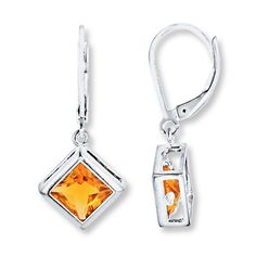 Just purchased.... Dangle Earrings Citrine Sterling Silver