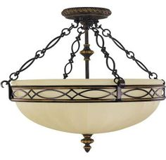 View the Feiss SF221 Drawing Room 3 Light Semi-Flush Ceiling Fixture at Build.com.