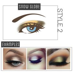 Using a neutral or shimmer light color, pack it on the lid with a base eyeshadow brush. Next, pick out a dark eyeshadow color and using a pencil brush or small angle brush, draw the color on the line Cut Crease Eyeshadow, Dark Eyeshadow, Eyeshadow Brushes, Eyeshadow Makeup, Hooded Eye Makeup, Hooded Eyes, Eye Makeup Tips, Beauty Makeup, Eyeshadow Techniques