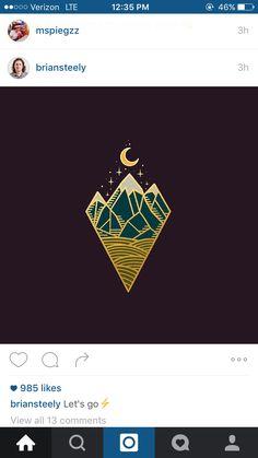 Moon. Logo.
