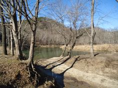 Bend in the Cacapon River