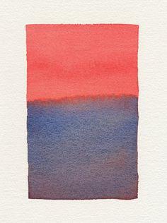 Watercolor by Malissa Ryder (via Design Sponge)