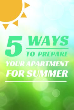 #Summer isn't too far away, and now is the perfect time to prep your #home so you'll be as cool as a cucumber when the heat hits: http://apt.gd/QUCRPh #apartment