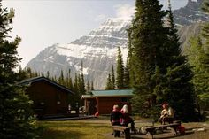 HI-Mount Edith Cavell Wilderness Hostel in Jasper National Park, AB Jasper National Park, National Parks, Edith Cavell, Hostel, Wilderness, Mount Everest, Canada, Mountains, Travel