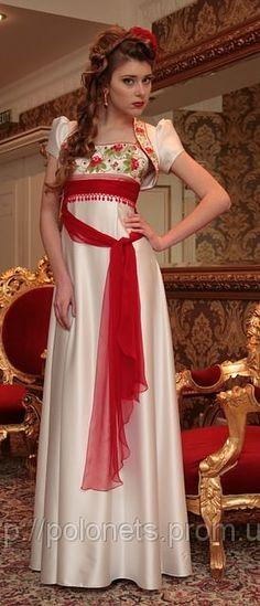 вишиті плаття в українському стилі