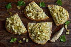Baked Potato, Camembert Cheese, Dips, Potatoes, Cooking Recipes, Keto, Baking, Breakfast, Ethnic Recipes