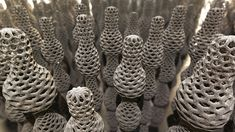 Some carbon nanotube shapes that nanotechnology researchers can now create.