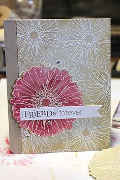 Friends 'Til The End Revisited - Friends Forever Card by Heather Nichols for Papertrey Ink (March 2013)