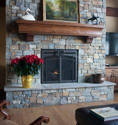 Custom Fireplace Doo