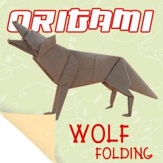 Origami Wolf Go To Origamihowto For Instructions