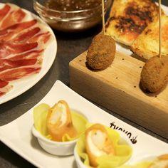 Comer variado  y de calidad en un entorno muy especial. El txoko de campo volantin.