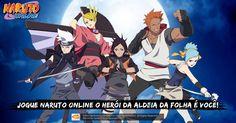 Naruto Online, jogo oficial da Bandai Namco, o MMORPG de Naruto mais popular do mundo!