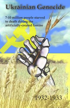 UK campaign for Holodomor recognition.  Most people do not know about this horrible campaign against the Ukrainian people.