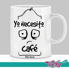 Yo también necesito café   #coffe #trickynotes #TrickyNotes