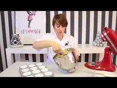 Receta de cupcakes de turrón - YouTube