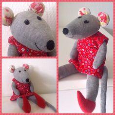 Sock mouse Sokken muis