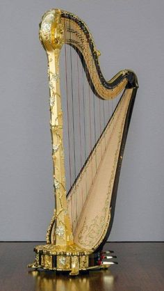 "Say hello to ""Victor Salvi"", the newest Salvi Harp model!"