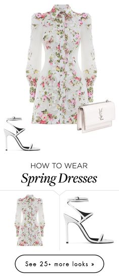 """""""Untitled #827"""" by viyansagvan on Polyvore featuring Yves Saint Laurent and Zimmermann"""