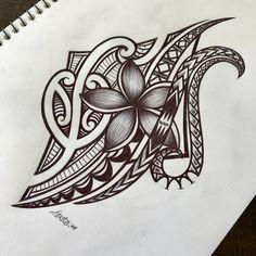 Tribal Animal Tattoos, Tribal Flower Tattoos, Tribal Tattoos For Women, Leg Tattoos Women, Abstract Tattoos, Geometric Tattoos, Polynesian Tattoo Meanings, Polynesian Tribal Tattoos, Filipino Tribal Tattoos