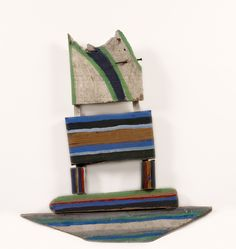 Caribbean Sail by Betty Parsons Wood Pieces, Abstract Sculpture, American Artists, Three Dimensional, Abstract Expressionism, Wood Art, Caribbean, Contemporary Art, Sculptures