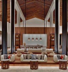 andaz maui at wailea hotel Lobby Interior, Hotels Design, Modern Rustic Homes, House, Interior Design, Resort Design, Interior Architecture, Hotel Interiors, Hotels Room