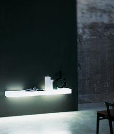Illuminated shelving   Storage-Shelving   Light-Light   Glas. Check it out on Architonic
