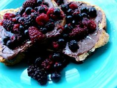 Healthy Nutella & Fruit French Toast