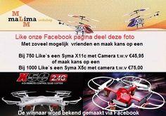 Like en deel onze Facebook pagina en maak kans op een mooie prijs