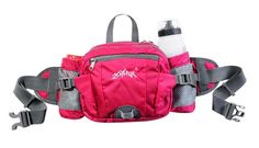 Best-selling Rose Outdoor Sports Travel Waist Pack Without Water Bottle Waterproof -- See this awesome image : Hiking packs Fancy Water Bottles, Running Belt, Trail Running, Waist Pack, Hiking Equipment, North Face Backpack, Pouch, Shoulder Bag, Purses