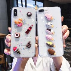 Diy Resin Phone Case, Glitter Phone Cases, Food Phone Cases, Cute Phone Cases, Iphone 6, Iphone Phone Cases, Phone Covers, Music Note Nails, Kawaii Phone Case