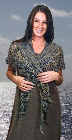 Prism Yarn--Christine Nissley--Calla Shawl