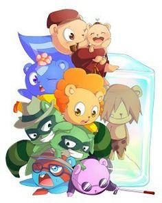 Happy Tree Friends, Free Friends, Htf Anime, Friend Anime, Furry Drawing, Cartoon Movies, Rwby, Chibi, Avengers
