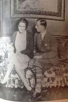 """Grand Duke Dmitri Pavlovich Romanov of Russia and his wife Audrey Emery. """"AL"""""""