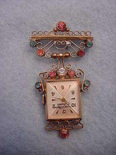 antique nursing watch - Google Search