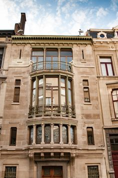 /// belgium / major town houses of the architect victor horta (brussels) (here: hotel tassel) / #unesco